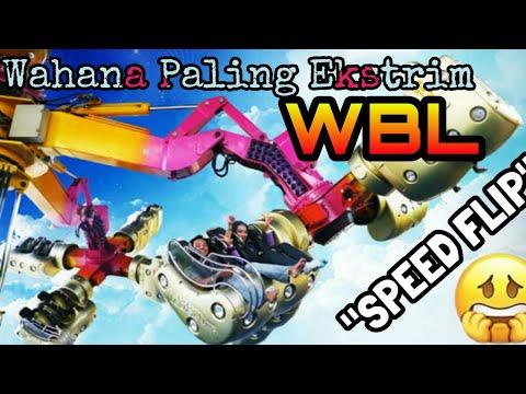 Naik Wahana Speed Flip bikin jantung mo copot! @WBL
