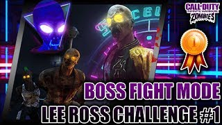 LEE ROSS CHALLENGE #1 COMPLETE!!! SPACELAND BOSS FIGHT MODE - IW Zombies