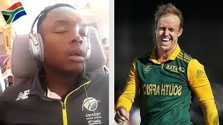 South Africa Cricket Team Funny Moments In Dressing room