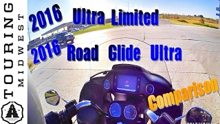 2016 Harley Davidson Road Glide Ultra vs. Ultra Limited | Comparison