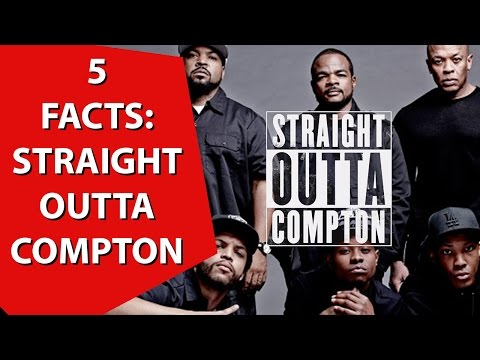 5 Facts About NWA (Straight Outta Compton Movie)