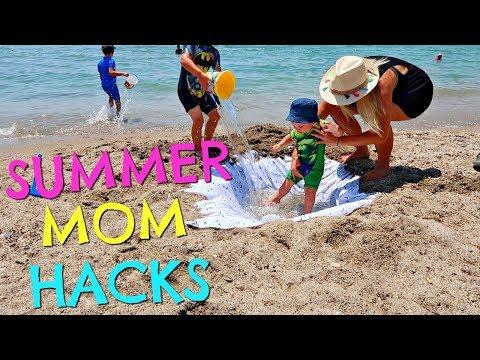 Xxx Mp4 SUMMER MOM HACKS SUMMER MUM HACKS BEACH HACKS 3gp Sex