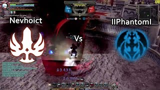 DN INA (95 lvl cap) PVP Showmatch: Gladiator (Nevhoict) vs Arch Heretic (IIPhantomI)