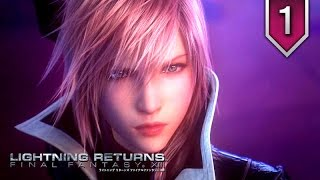 Lightning Returns: Final Fantasy XIII-3 - Game Movie / All Cutscenes - Part 1