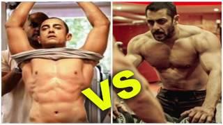 Aamir Khan Body Building For Dangal Vs Salman Khan Body Building For Tubelight - Video