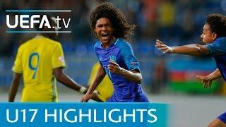 UEFA Under-17 Highlights: Sweden 0-1 Netherlands