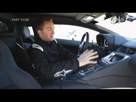Essai Lamborghini Aventador FAST CLUB