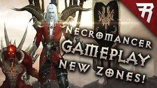 NECROMANCER GAMEPLAY - New Zones! (Diablo 3 2.6 beta)