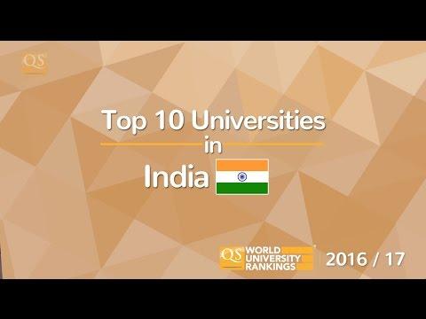 Top 10 Universities in India 2016/17