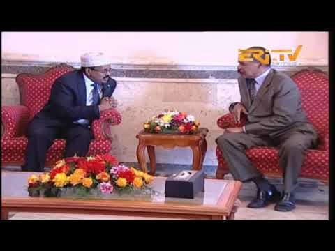 Xxx Mp4 ERi TV Eritrea Eritrea Welcomes Somalia President Mohamed Abdullahi Farmajo 3gp Sex