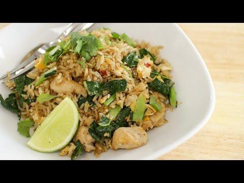 Xxx Mp4 Thai Chicken Fried Rice Recipe ข้าวผัดไก่ Hot Thai Kitchen 3gp Sex