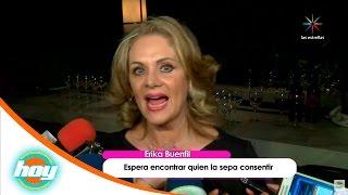 ¡Erika Buenfil busca novio!   Calientitas del espectáculo   Hoy