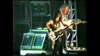 IRON MAIDEN Seldmayerhalle, Munich (GER), 03 decembre 1990