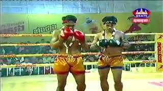 Khim Dima vs Yokphit (Thai) Seatv Khmer boxing 02/12/2018