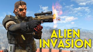 Fallout 4 ALIEN INVASION - Gameplay Part 3