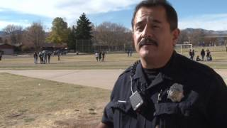 Denver Police Serve (and Protect) Thanksgiving to DPS Students