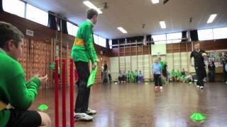 Sainsbury's School Games - inclusive Kwik Cricket format