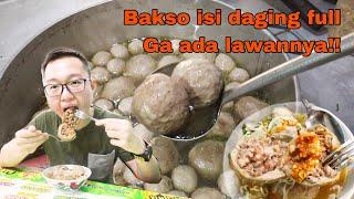 Bakso Isi Daging Siram Sambel Bikin Ketagihan, Pulangnya Borong Oleh-Oleh Banyak Banget!