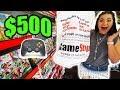THE $500 GAMESTOP CHALLENGE PART 2!!