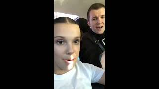 [2/2] Millie Bobby Brown - Instagram Livestream 06-17-2017