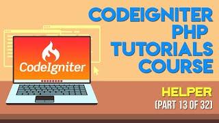 Codeigniter PHP Tutorials in Urdu/Hindi Part 13 helper