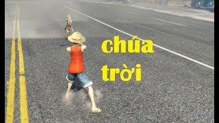 GTA 5 - Vua hải tặc Luffy đánh bại Chúa trời Enel (ý tưởng Fan)|GHTG