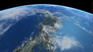 【 ISS 】 国際宇宙ステーション 日本上空を飛行