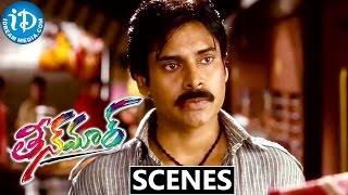 Teen Maar Movie Scenes || Pawan Kalyan Fights for Kriti Kharbanda at Railway Station