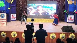 Best dance on Govinda song || college festival 2018 || 90's dance songs melody
