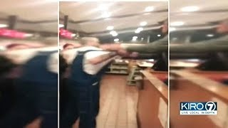 Caught On Video Man Attacks African American Denny