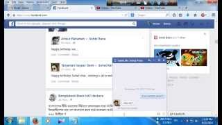 How to write facebook chat in bangla