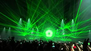 Qlimax 2012 Isaac Intro + part of set + LASER SHOW FULL HD 1080p