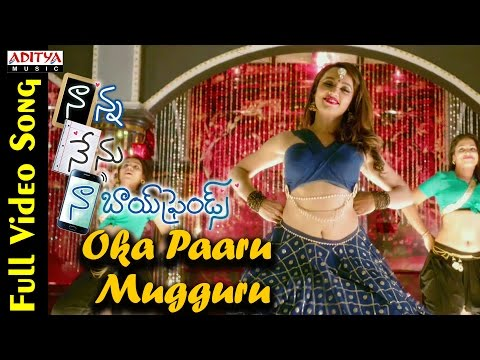 Xxx Mp4 Oka Paaru Mugguru Full Video Song Naanna Nenu Naa Boyfriends Movie HebahPatel Ashwin 3gp Sex
