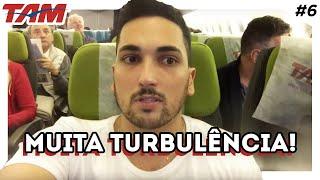 O que fazer dentro do avião? Voando de TAM de São Paulo até Frankfurt