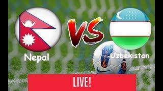 Nepal vs Uzbekistan Football | U-23 |full game | Full HD with 60 fps