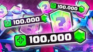 MASSIVE 100,000 GEM SPENDING SPREE! (Clash Royale)