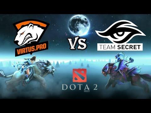 Virtus.Pro vs Secret [RU] l DOTA2 l Team Secret vs Virtus.Pro