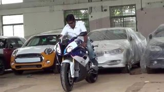 bmw s1000rr 2015 unboxing
