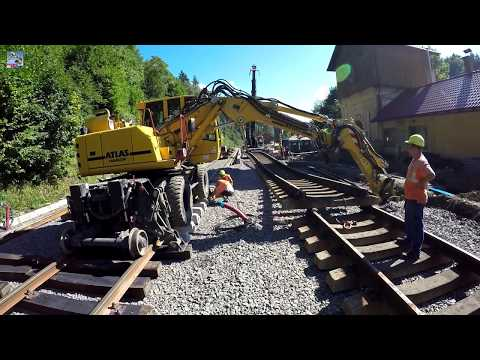 Move railway waists - Day in work XXXX (GoPro)