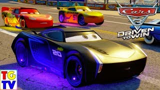 Cars 3 Driven to Win - Lightning McQueen & Cruz vs Jackson Storm