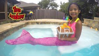Real Mermaid Treasure Hunting Live Mermaid