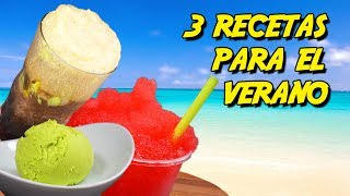℗ 3 recetas fresquitas para el verano | Superpilopi