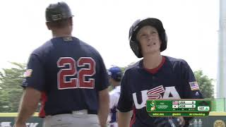 USA v Korea - U-12 Baseball World Cup 2019 - Opening Round