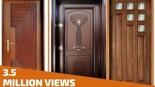 Top 35 Modern Wooden Door Designs for Home 2017- Plan N Design