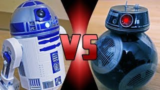 ROBOT DEATH BATTLE! - R2-D2 VS BB-9E Droid (ROBOT DEATH BATTLE!)
