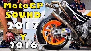 MOTOGP 2017+2016 Start Engine Sound Compilation PART 4 (HONDA, YAMAHA, SUZUKI,...)