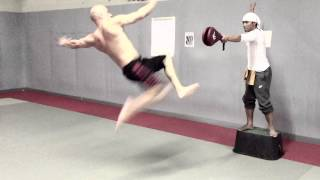 Vin Diesel and Tony Jaa Combat Training Muay Thai FF7