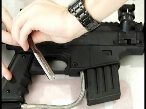 How to Install a Response Trigger on a Tippmann US Army Project Salvo by HustlePaintball
