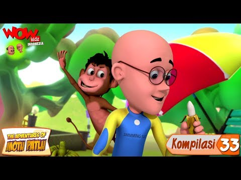 Kompilasi - 33 | Motu Patlu dalam Bahasa - Animasi 3D Kartun | WowKidz Indonesia