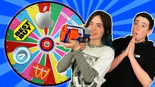 SPIN The Mystery Wheel & BUYING Whatever It Lands On!!